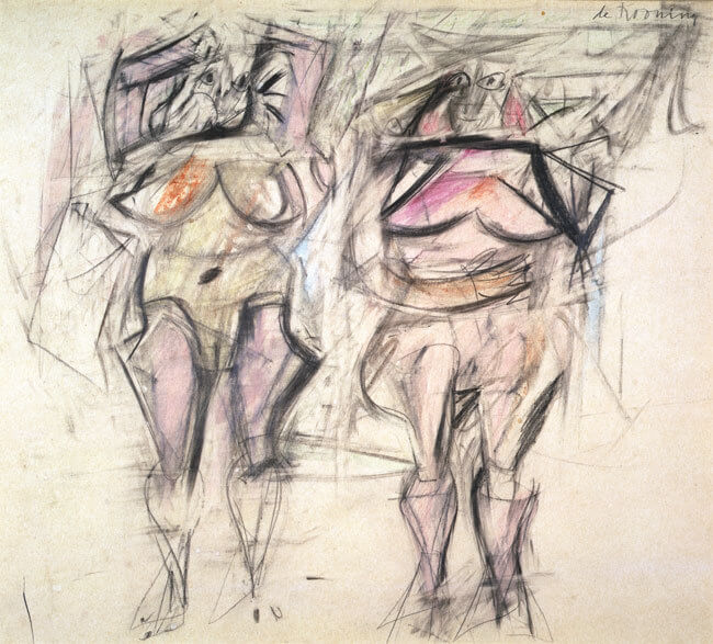 Sketch for Woman, 1953  by Willem de Kooning