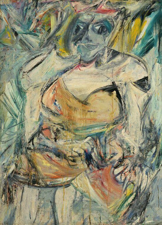 Woman I, 1950-52 by Willem de Kooning