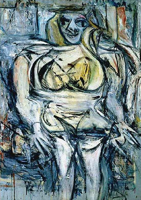 Woman III, 1953 by Willem de Kooning